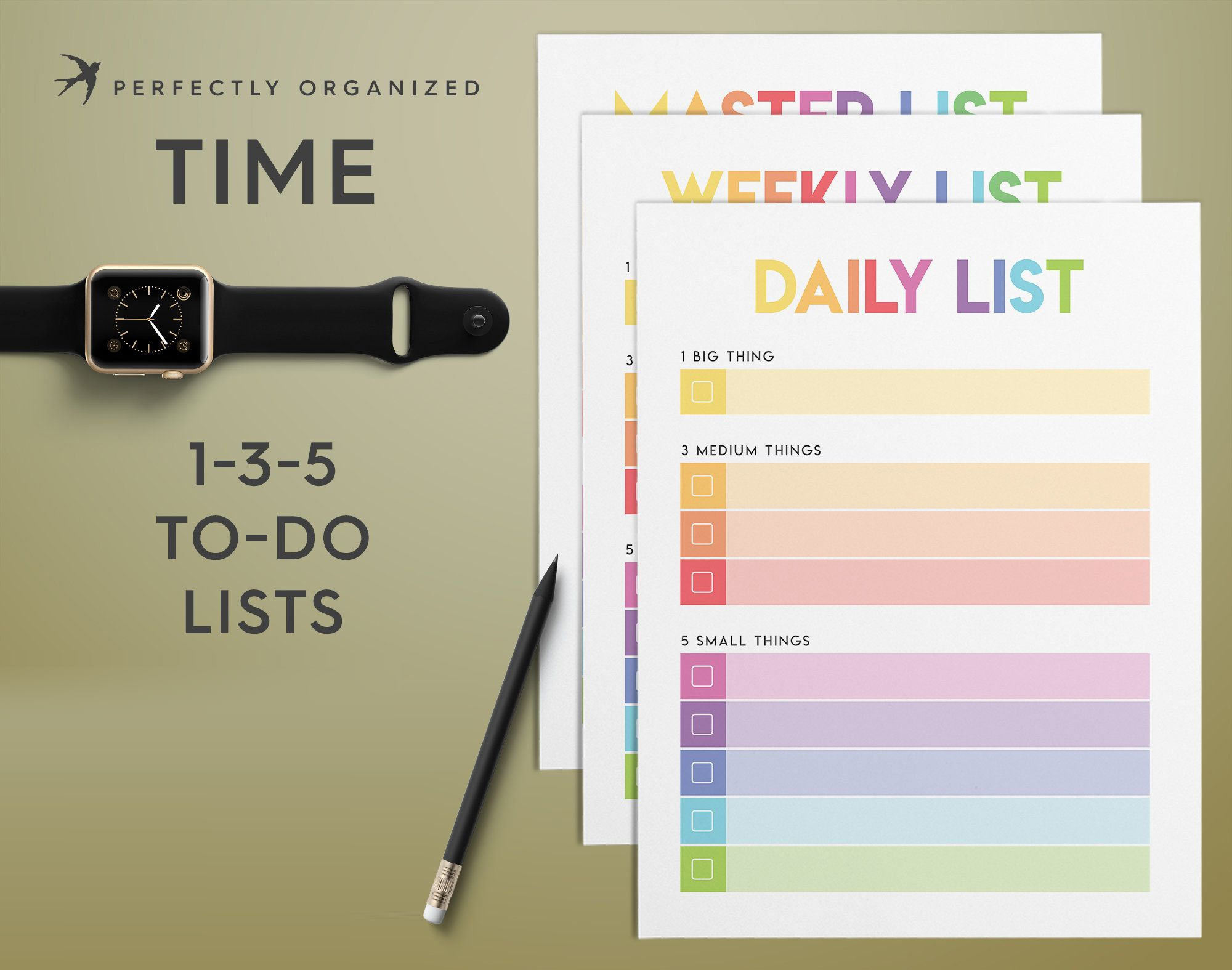I No Longer Worry About My To-do-list: 1-3-5 Task Planner Does…